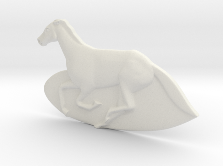 horse 3d printed