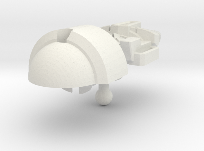 Bludgeon head IDW style B 3d printed
