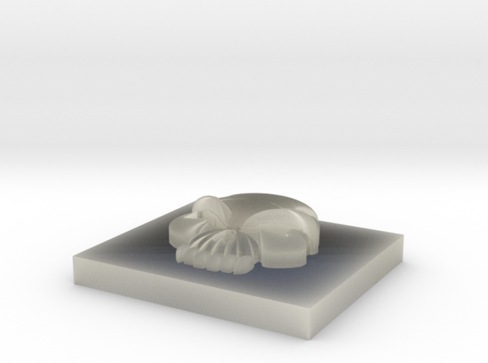 5.5 Skull 3d printed