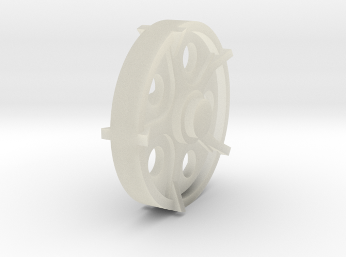 40mm wheel 3d printed