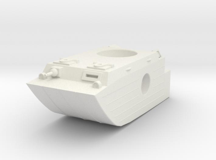 AWA amphib mech hull 3d printed