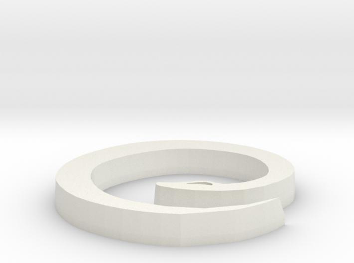 Snake Pendant 2 3d printed