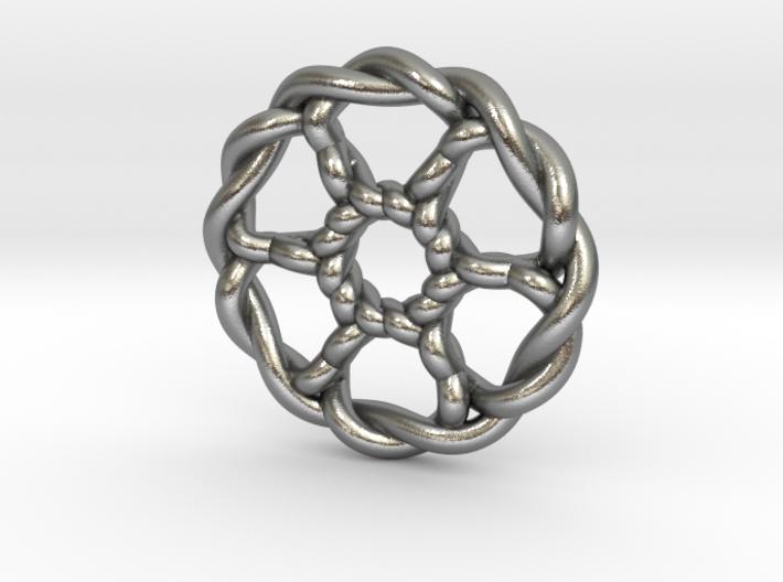 Celtic Knots 07 (small) 3d printed