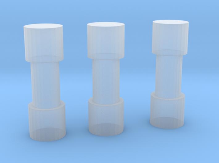 Pipe Bomb Set 3d printed