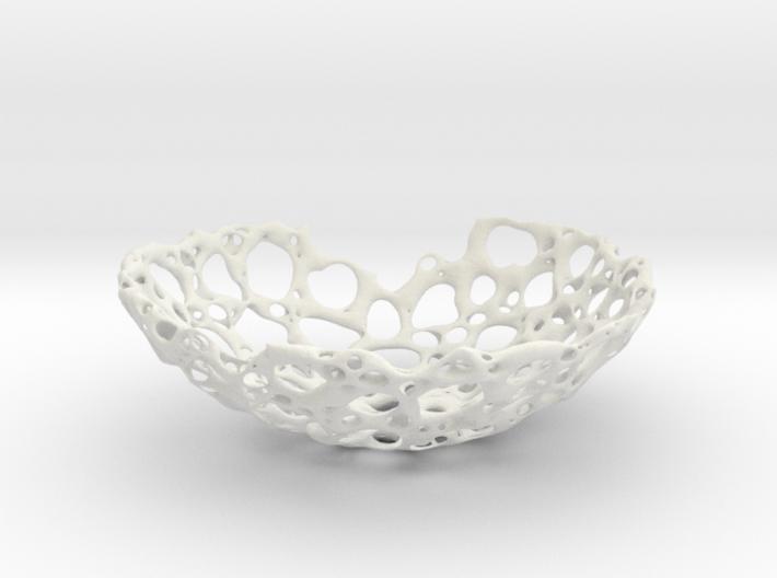 bone bowl 21cm 3d printed