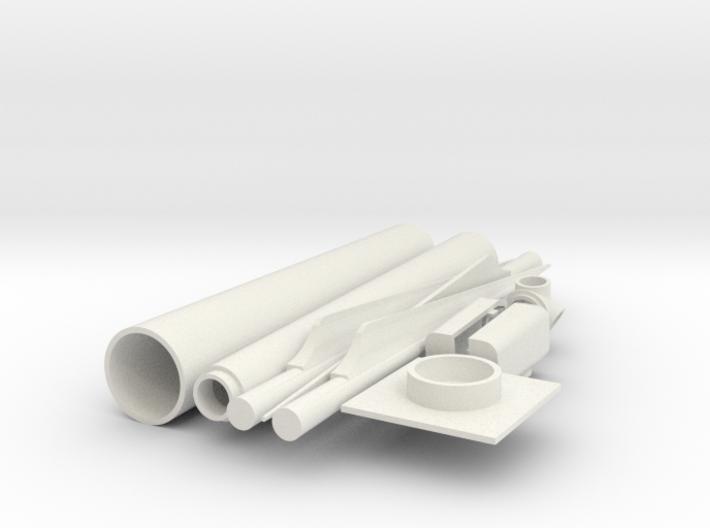 Wind Turbine Generator - Z scale 3d printed