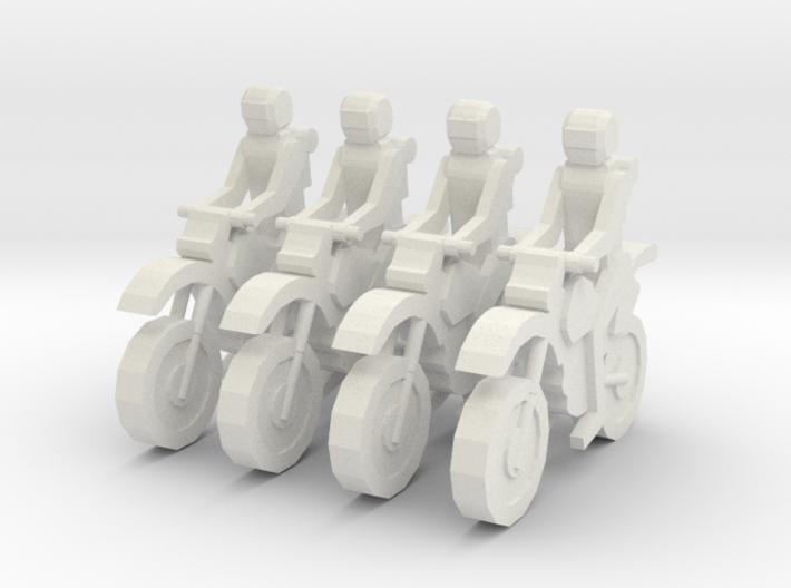 MG72-01A Dirt Bike Team 3d printed