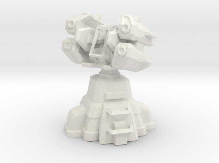 Air Defense Missile Turret 3d printed