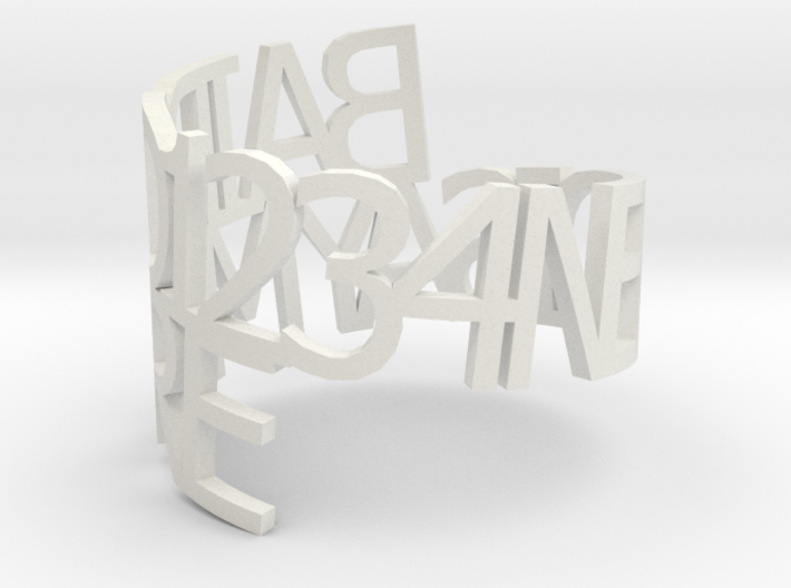 bairds-napkin-ring 3d printed