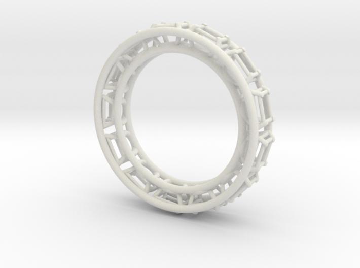 Tennis Bracelet 3d printed