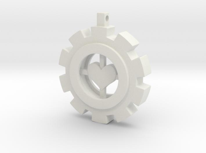 Heart Gear 3d printed