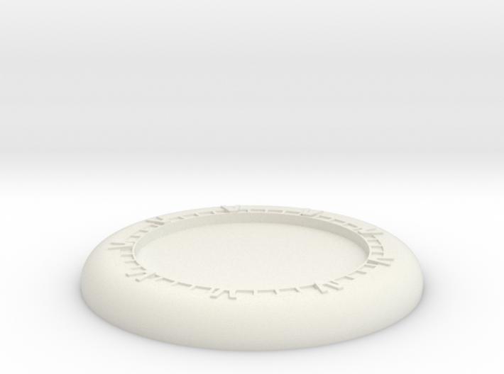 Generic base Ø30mm - Wormhole X-treme 3d printed