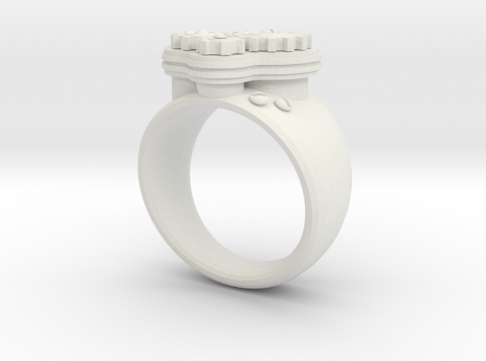 Gea Ring Type-1 3d printed