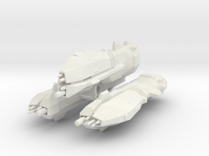 USF Heavy Cruiser x 3 3d printed