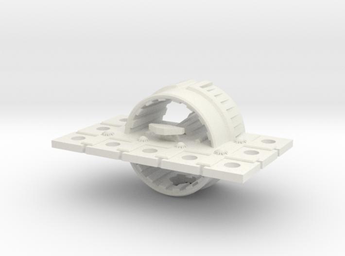 Zyphon Mushroom Class Heavy Cruiser 3d printed