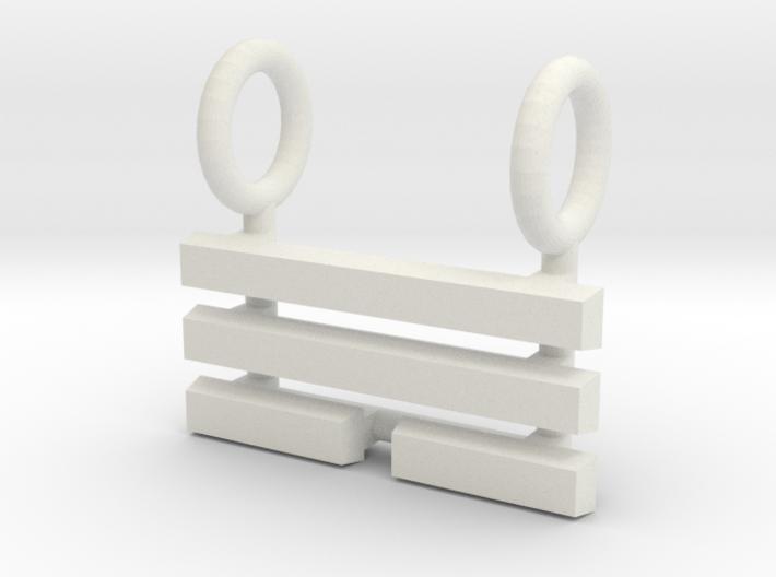 I Ching Trigram Pendant - Sun Upper 3d printed