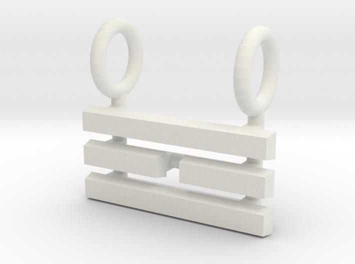I Ching Trigram Pendant - Li Upper 3d printed