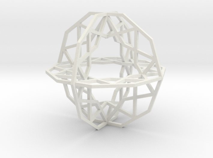 Girih Tile - Triple Decagon 3d printed