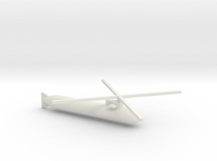 Submacopter 3d printed