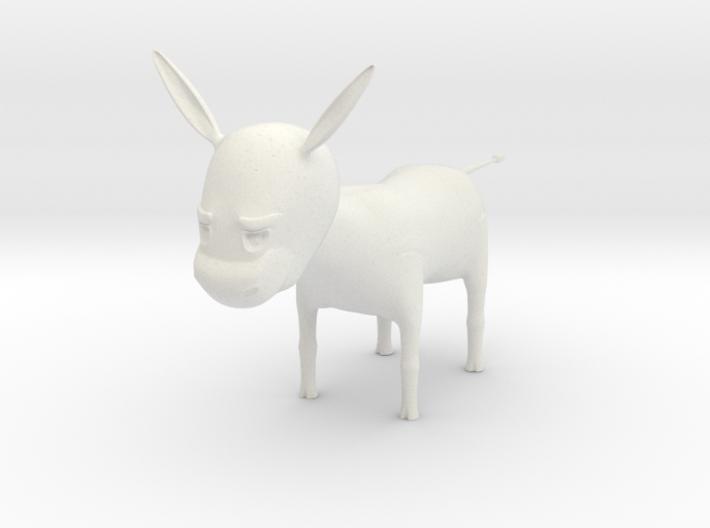 donkey 3d printed