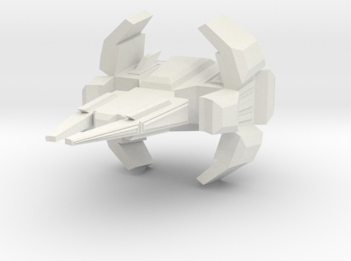 Space Force Patrol Frigate  3d printed