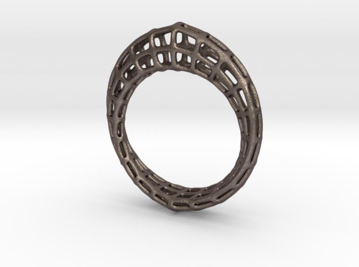 Wireframe Mobius Strip 3d printed