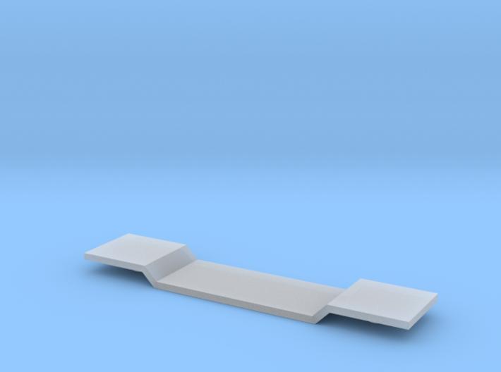 Depressed Center Flatcar - Z scale 3d printed