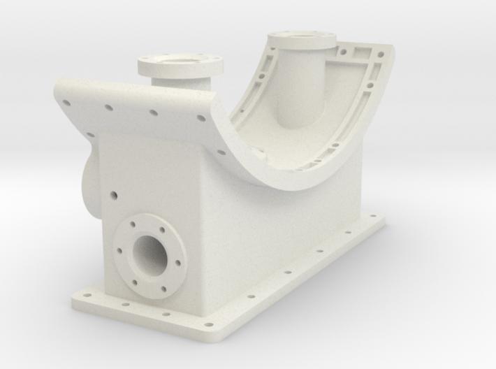 Smoke Box Saddle 1-16 3d printed