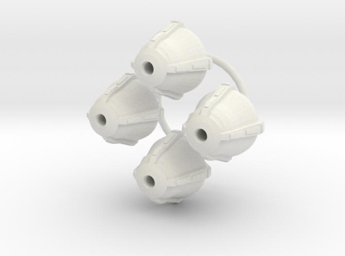Deco Light globes 1/43 3d printed
