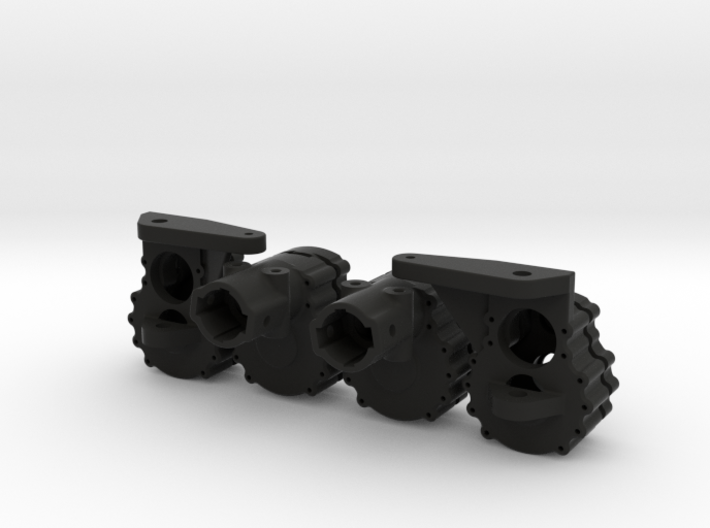 Portal Axle - Axial AX10, SCX10, 4x4x2 3d printed