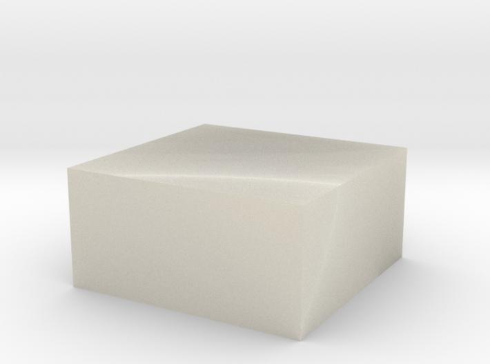 PAR_white 3d printed