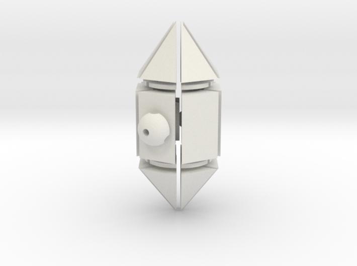 Hex Crystal 3d printed