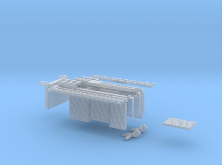 Zubehör AT3 mit Dach / Kragen 3d printed