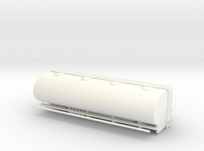 1:43 Elliptical Fuel Tank for AEC 3d printed
