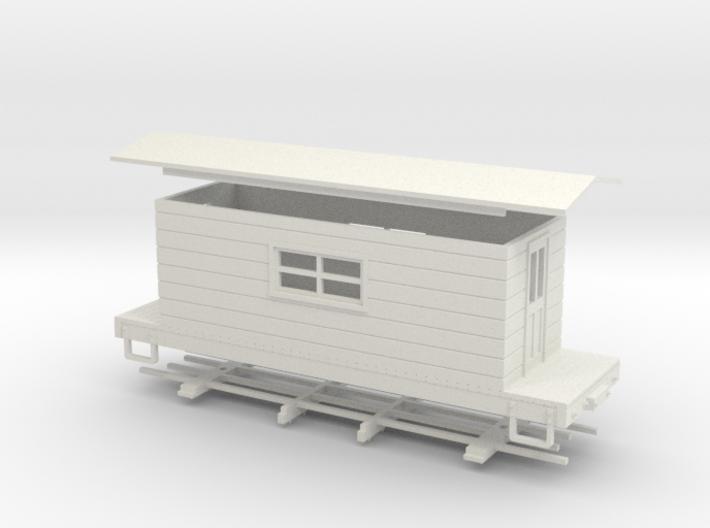HOn30 logging caboose 3 3d printed