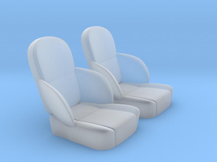 1/25 50s Sport Seat Pair 3d printed