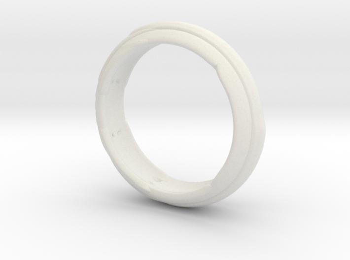 Modern Ring 3d printed