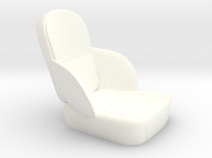 1/12 50s Sport Seat 3d printed