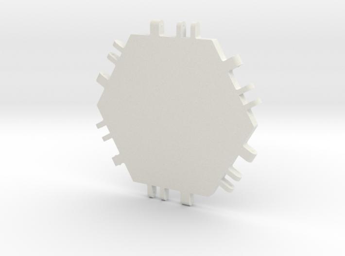 Hex Tile 3d printed