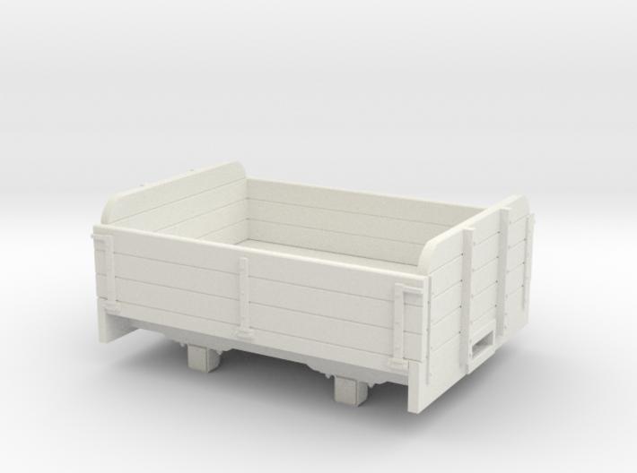 O9/On18 3 plank wagon re (kadee) 3d printed