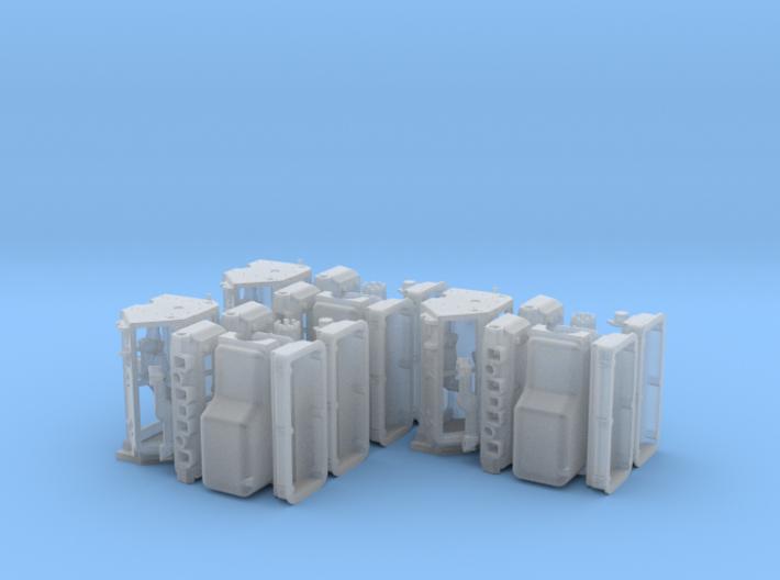 1/18 392 Hemi Basic Block Kit 3 Pack 3d printed