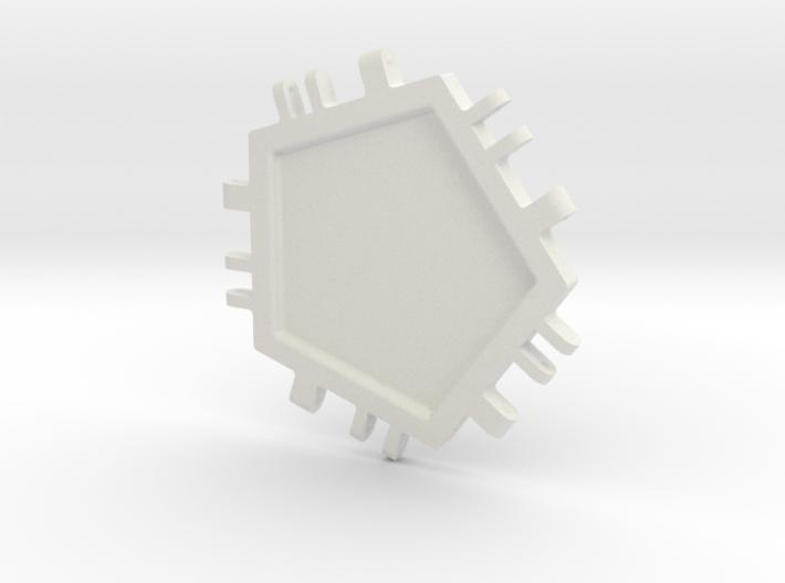 Penta Tile 3d printed