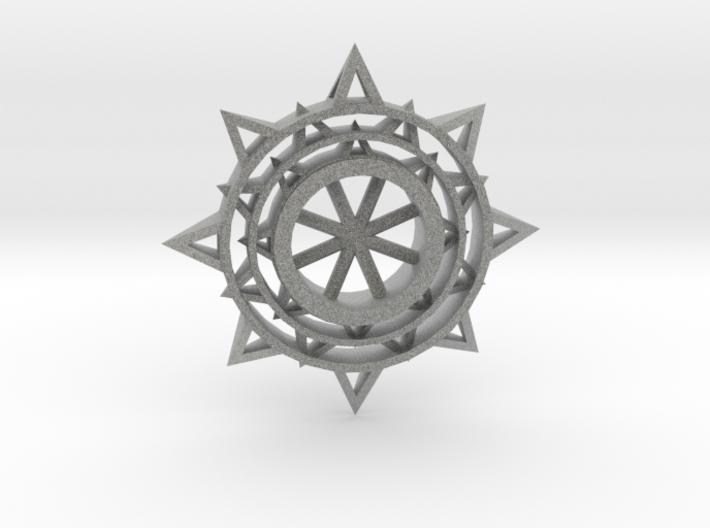 Sun Keychain m3 3d printed