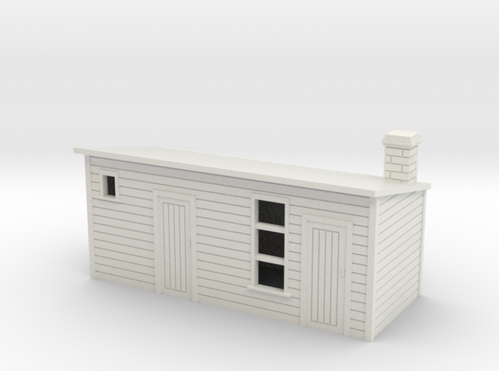 Outhouse For Old Style House and Officers house1: 3d printed