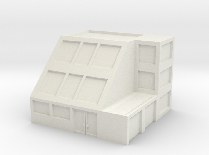 Apartment Building 3d printed