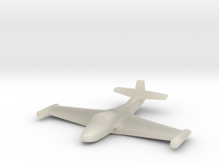 1/285 (6mm) A-37 Dragonfly 3d printed