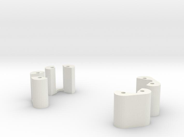 DJI Landing Gear extensions 30mm 3d printed