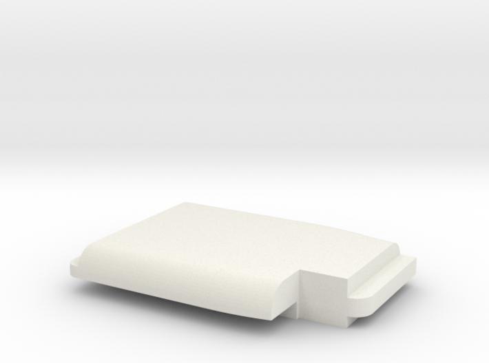 WAX3 Compatible Peeler Handle Part 2 of 2 3d printed