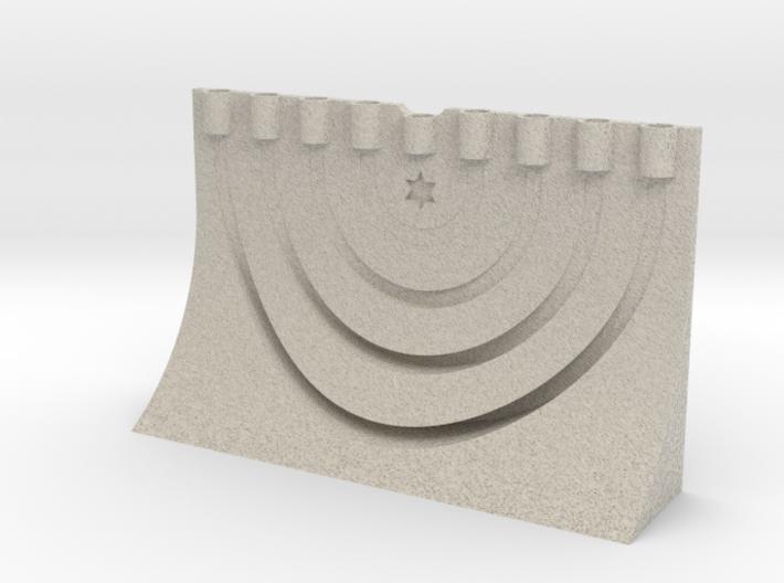 menora 3d printed