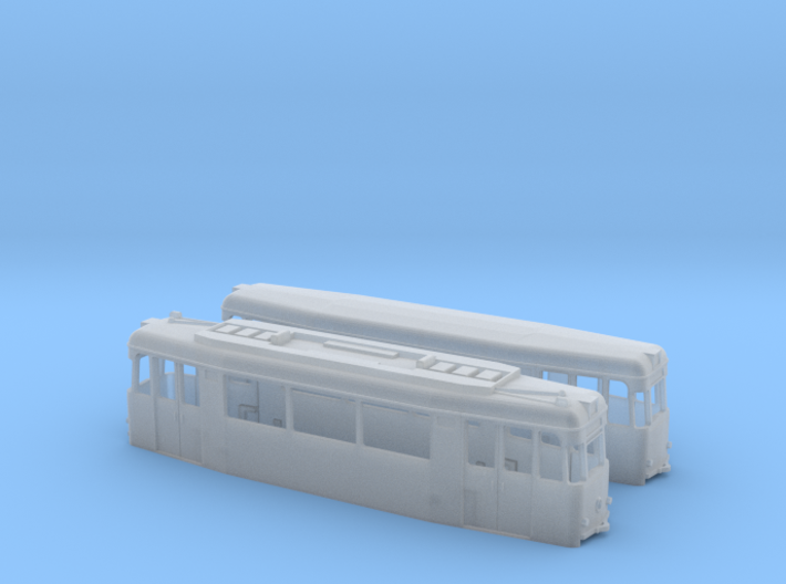 Gotha T2/B2-62 tram set (two direction) 3d printed